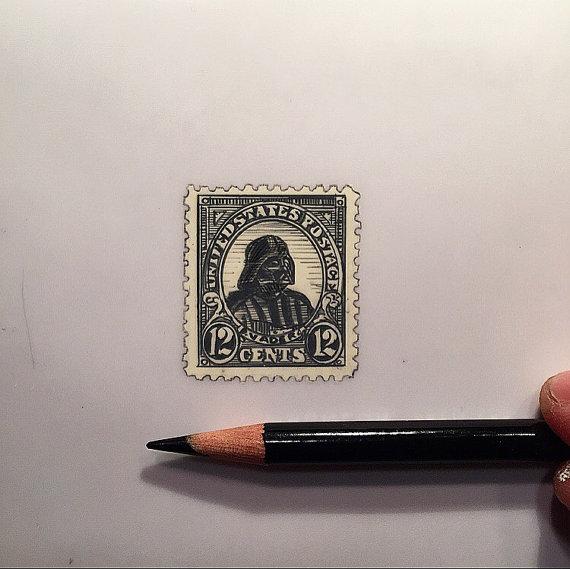 Jeremy Ennis Vader Stamp