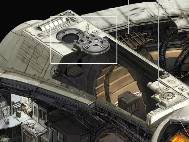 Kemp Remillard Millennium Falcon 7