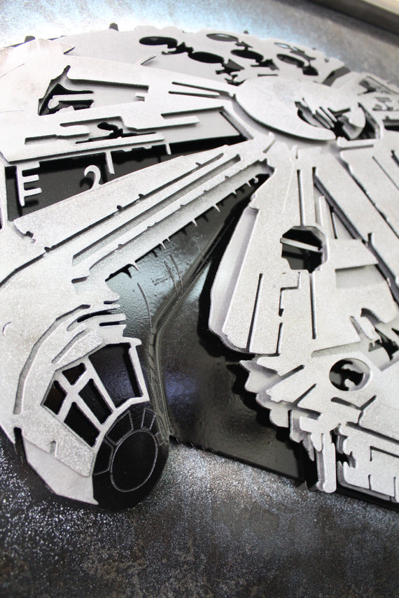 Laced Up Metal Millennium Falcon 3
