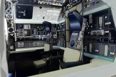 Papercraft Millennium Falcon cockpit 02