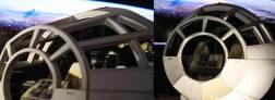 Papercraft Millennium Falcon cockpit 08