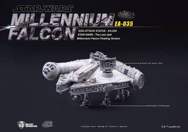 Egg Attack Millennium Falcon ST 00