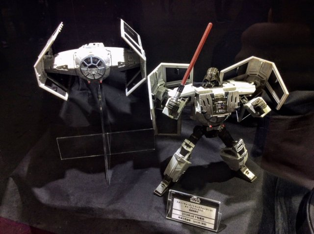 Tokyo-Comic-Con-Transformers-X-Star-Wars-001-Tie-Fighter-Darth-Vader
