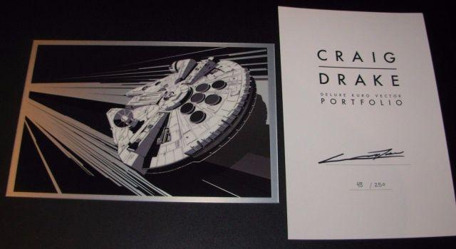 CD Falcon Print 2