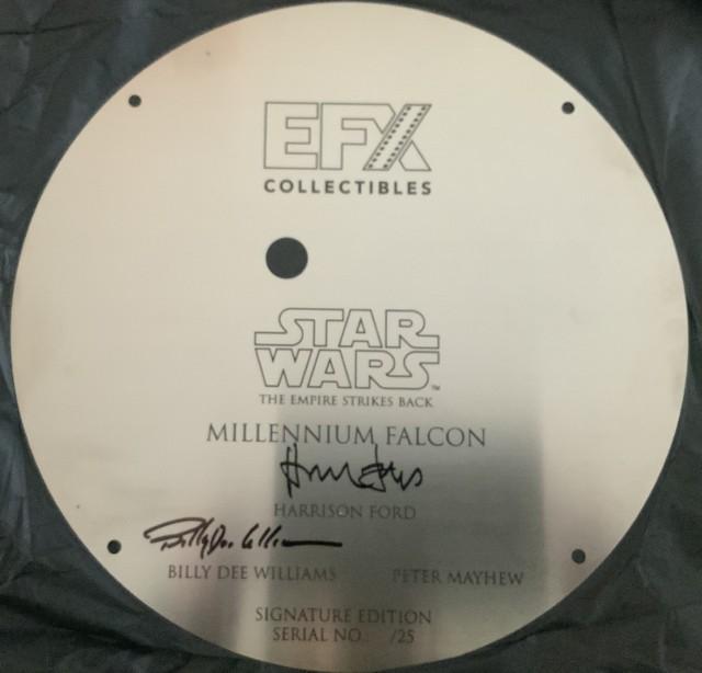 EFX plaque