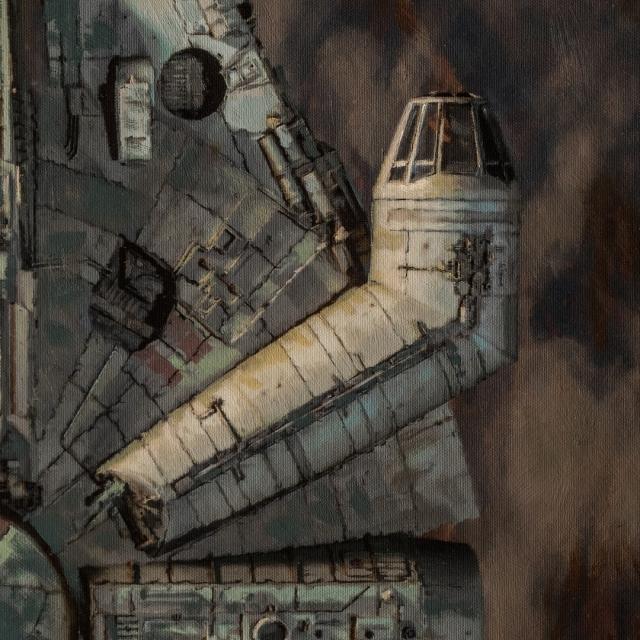 Millennium Falcon Approach 1