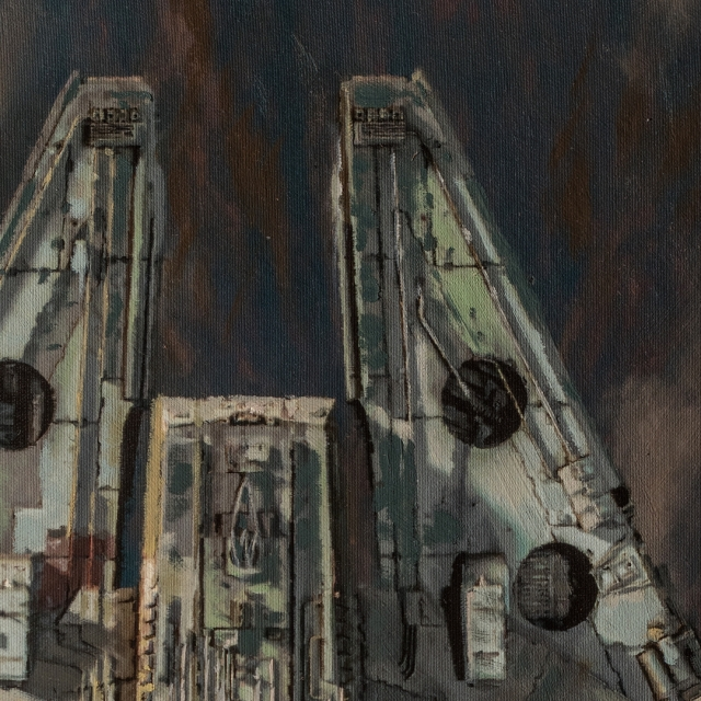 Millennium Falcon Approach 2