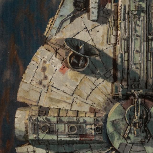 Millennium Falcon Approach 3