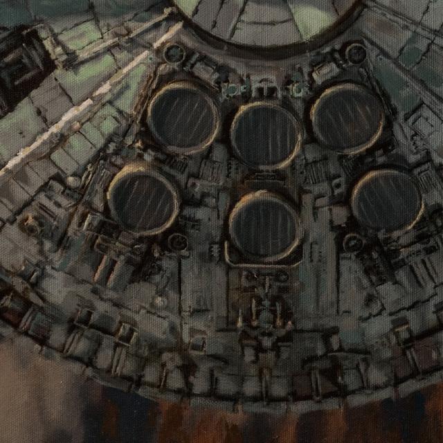 Millennium Falcon Approach 5