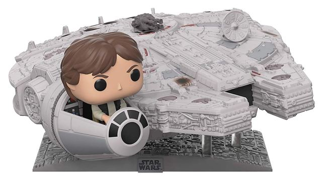 Funko Han Solo and Millennium Falcon 1