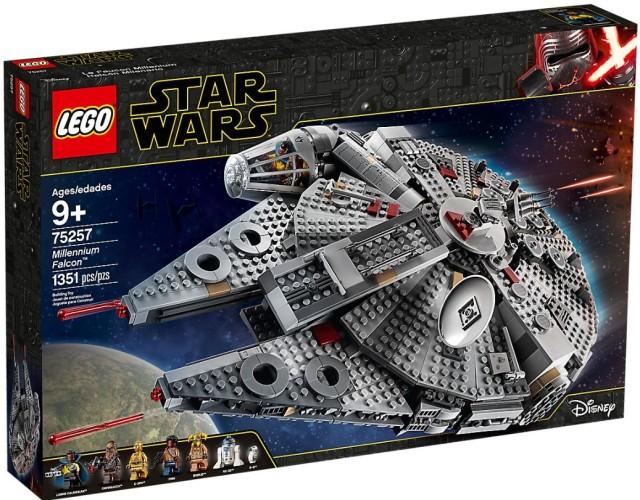 75257 Lego Millennium Falcon 1