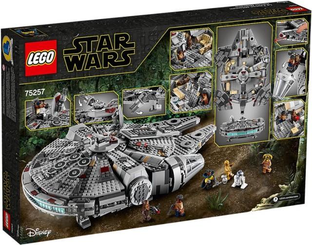 75257 Lego Millennium Falcon 2