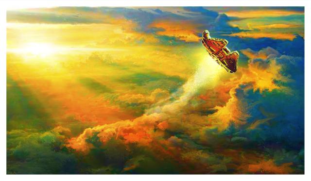 Falcon Rising by Mark Chilcott